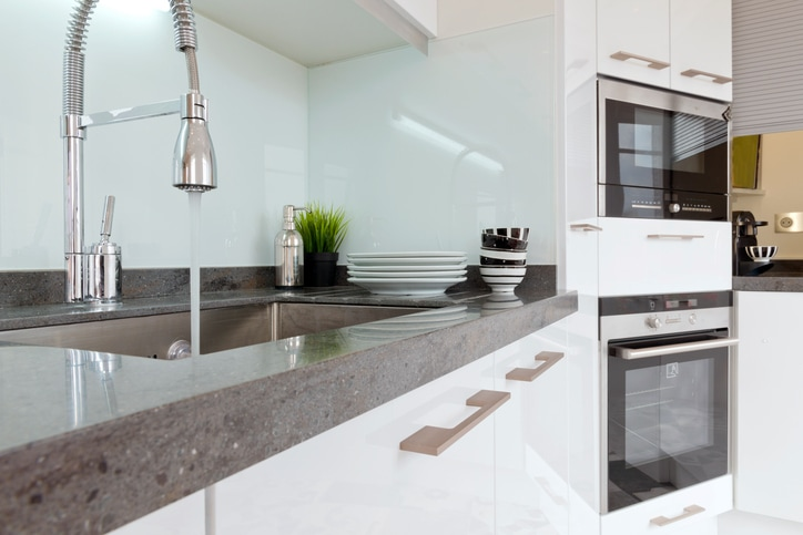 Maintenance and cleaning granite kitchen worktops