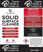Express kitchens stone worktop cleaner